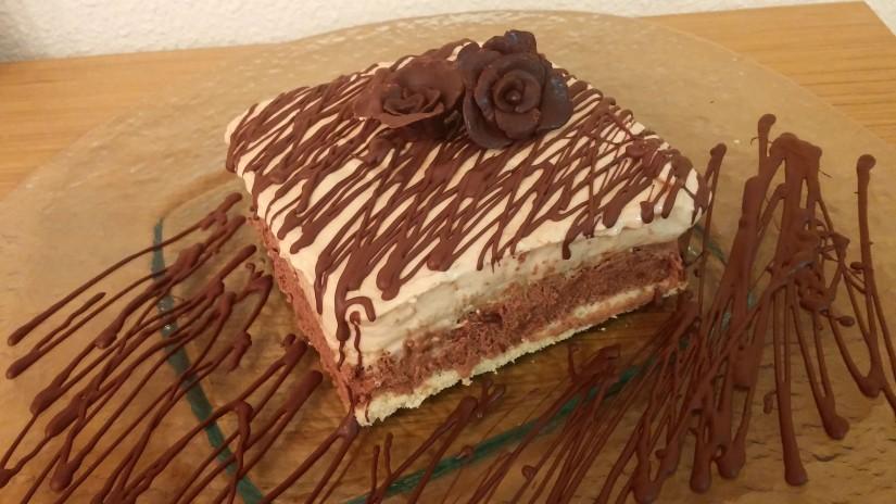 Mousse Chocolate y Dulce de Leche