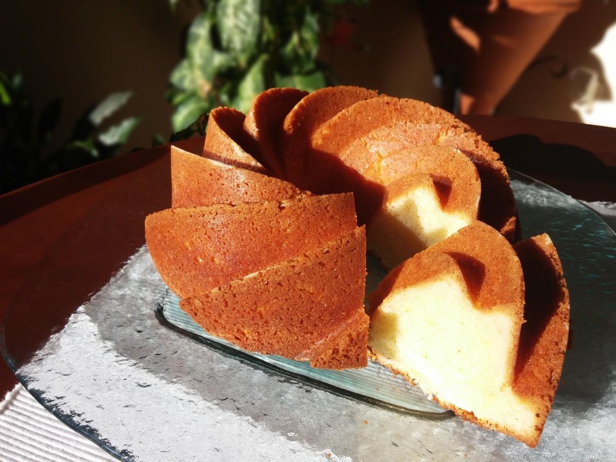 Bundt Cake de Lima-Limón