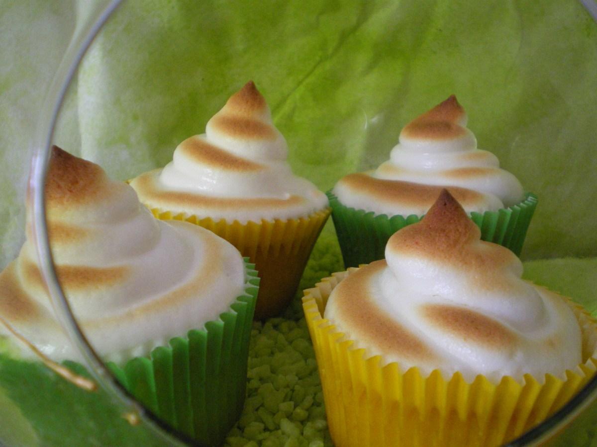 Cupcakes de Lima-Limón