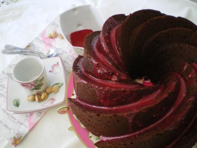BundtCake de Chocolate y Pistachos