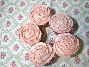 cupcakes fresas