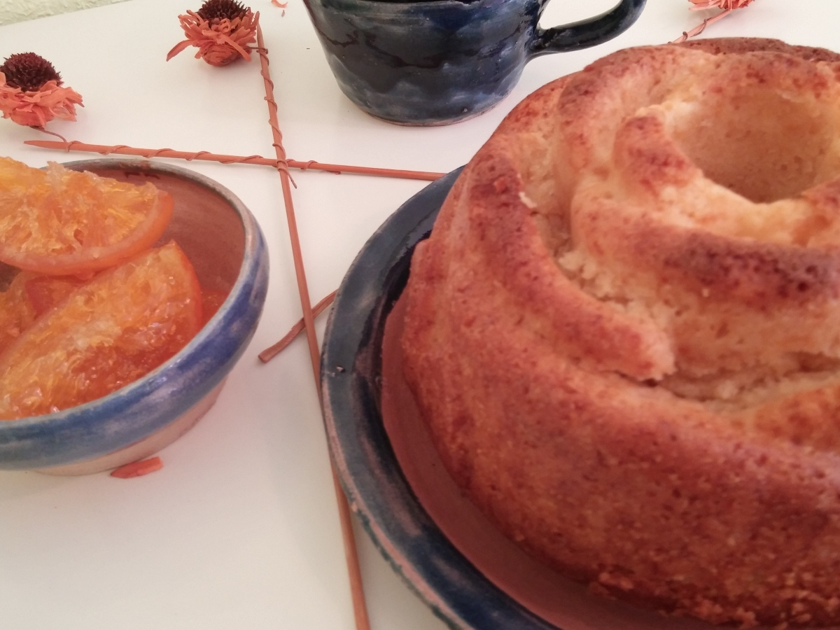 Bundt Cake de Mermelada de Naranja Amarga