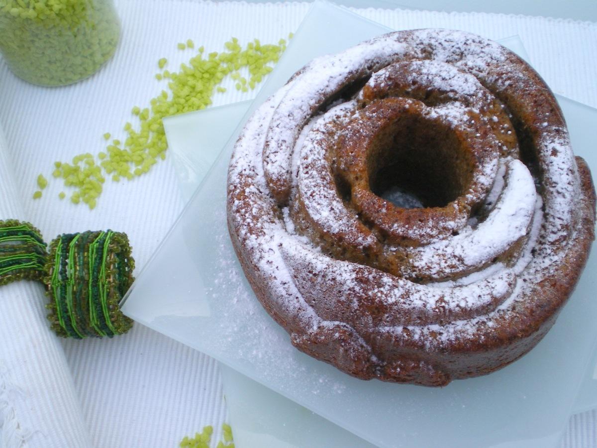 Juego de Blogueros 2.0: Bundt Cake de Calabacin, Canela y Semillas de Amapola