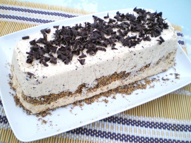 Tarta Helada de Dulce de Leche y Chocolate