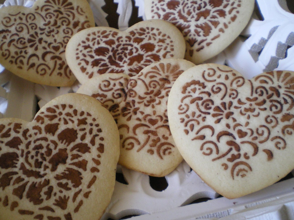 Galletas Decoradas con Stencil
