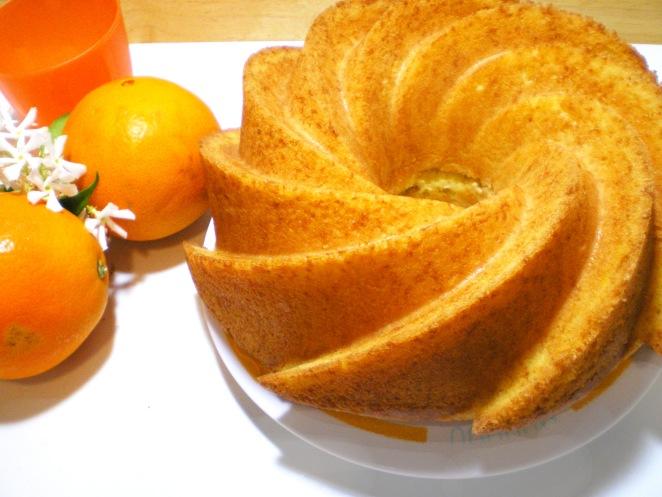 Bundt Cake Naranja