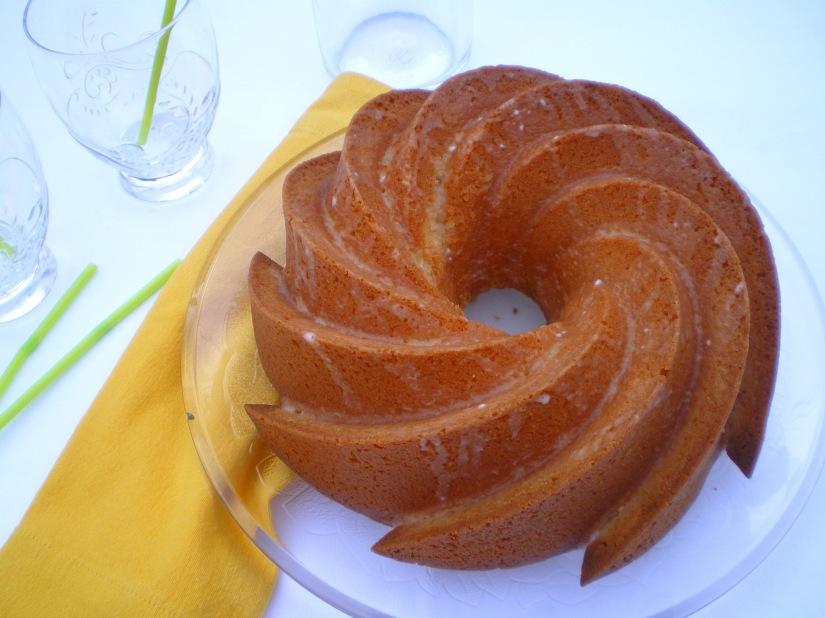 Bundt cake Limón