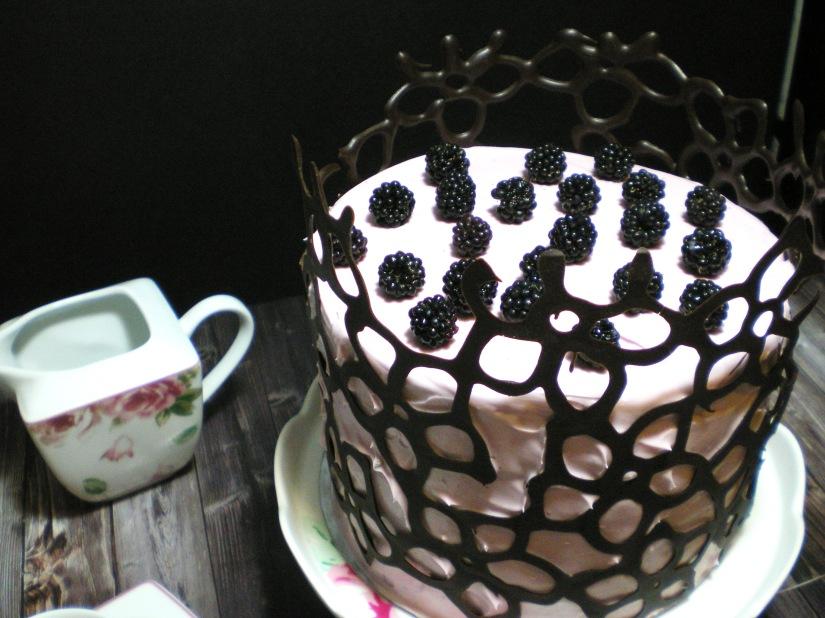 Layer cake de Chocolate y Mora
