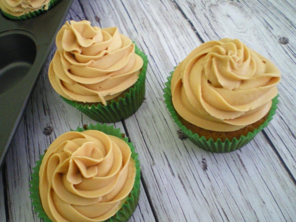 Cupcakes de Manzana y Caramelo