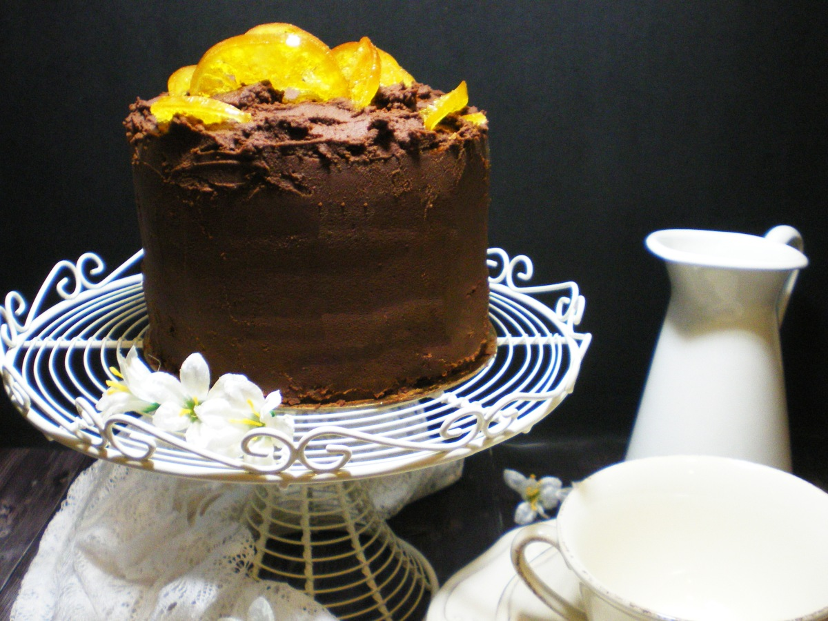 Layer Cake de Naranja y Chocolate