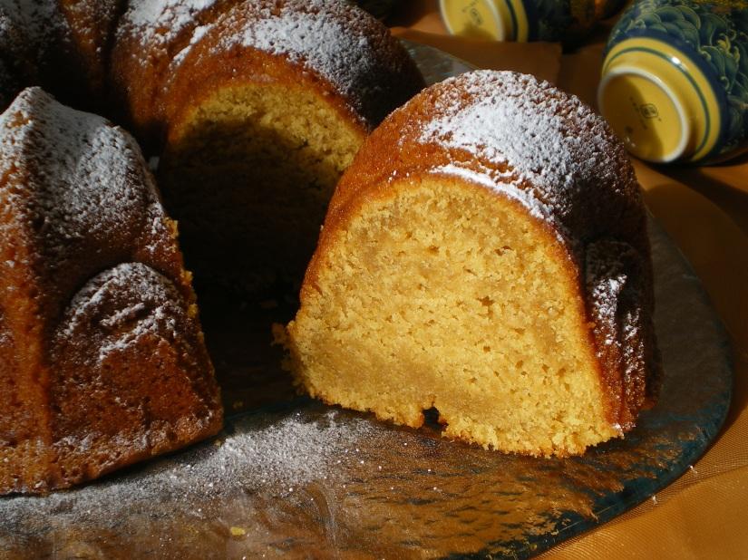 Bundt Cake de Naranja y Miel