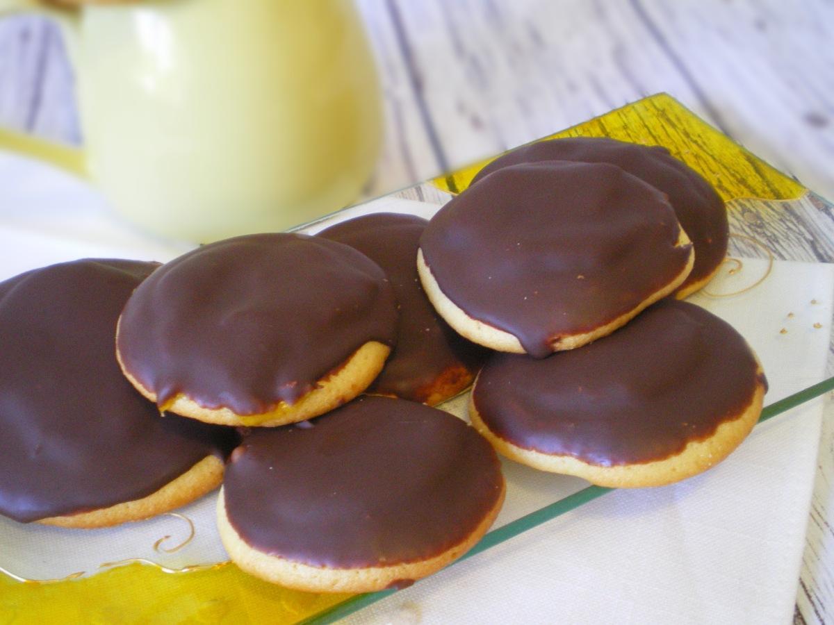 Galletas de Chocolate y Corazón de Naranja