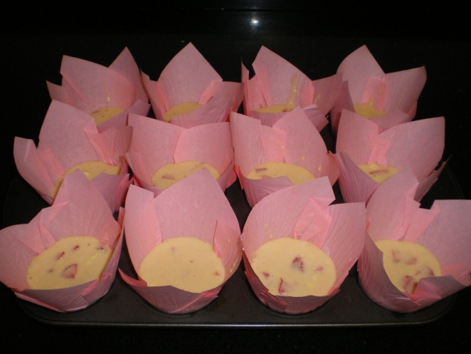 Llenado Muffins