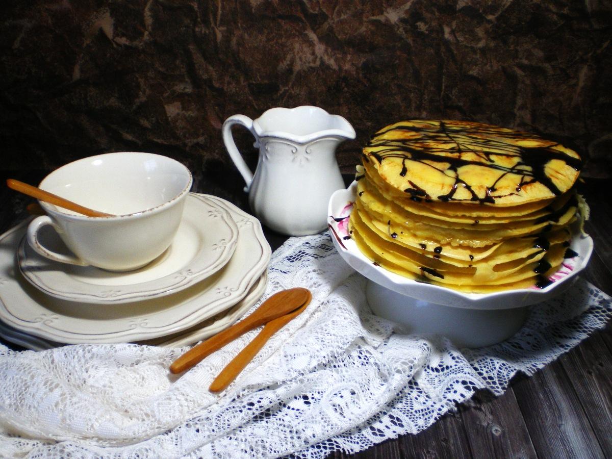 Juego de Blogueros 2.0: Tarta de Crepes de Naranja y Crema de Naranja