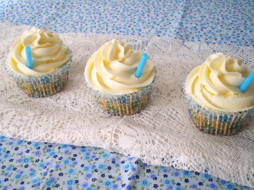 Cupcakes de Piña Colada