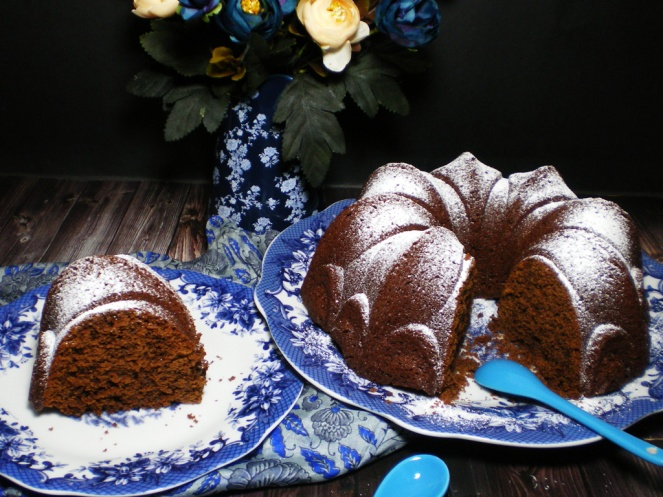 BundtCake Chocolate, Café y Leche Condensada