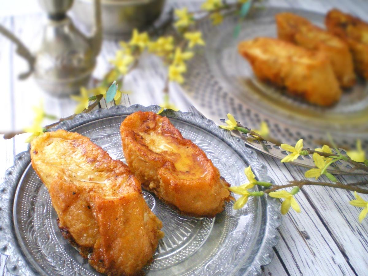 Torrijas de Naranja y Miel