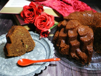 Bundt Cake de Chocolate al caramelo y Nueces
