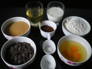 Bundt De Chocolate y Crema de queso Chocolateada