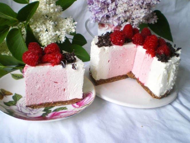 Mousse de Yogurt y Fresas