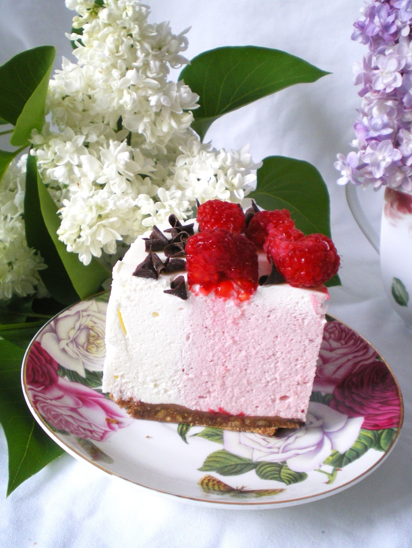 Mousse de Yogurt y Fresas