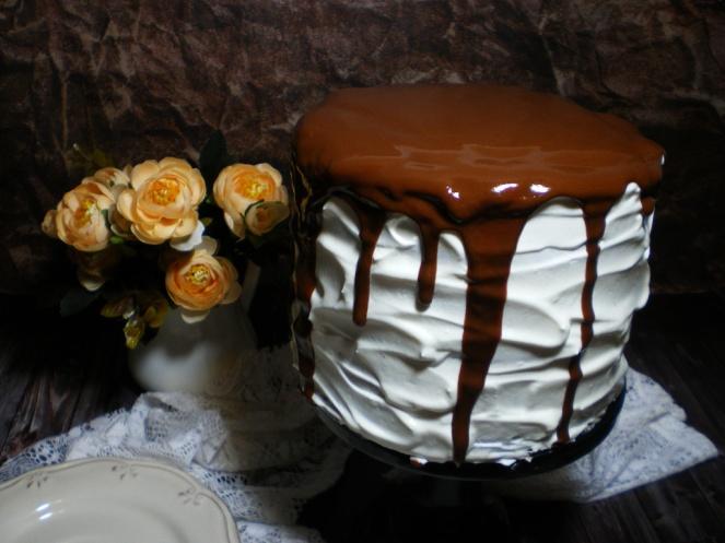 Tarta Chocolate, Café y Baileys