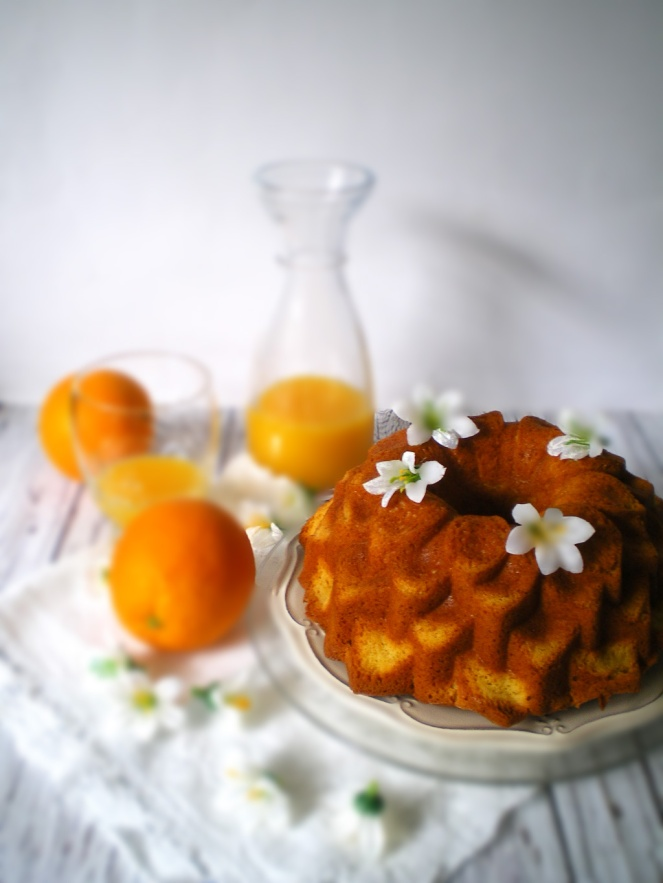 Bundt de Naranja y Azahar