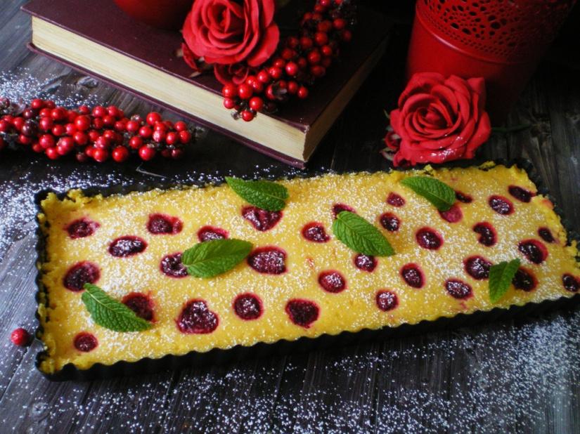 Tarta de Limón y Frambuesas