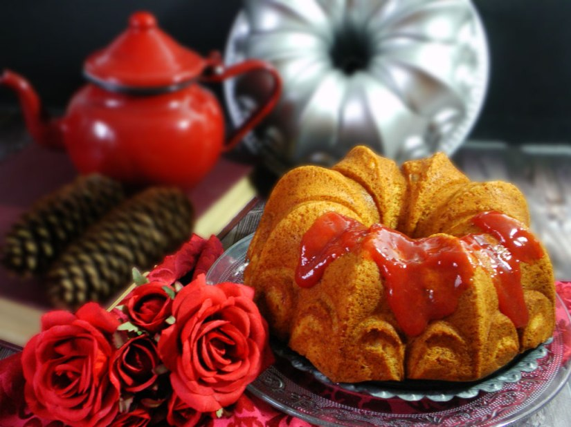 Bundt Cake de Ciruela