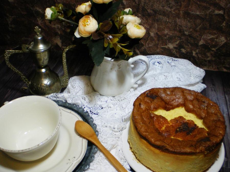 Enero: Cheesecake de Naranja
