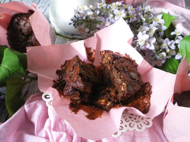 Cupcakes choco y avellanas